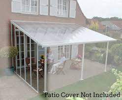 poly tex patio cover sidewall kit 13 ft hg9201 hg9201 sale