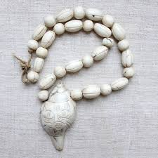 shell necklace images Ritual interiors conch shell necklace jpg