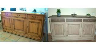 peinture pour meubles de cuisine en bois verni meuble de cuisine bois massif meuble cuisine chene blanchi billot