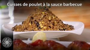 cuisine choumicha poulet choumicha cuisses de poulet à la sauce barbecue