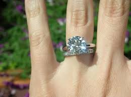 3 carat ring 5 carat diamond engagement ring on finger 34 engagement rings