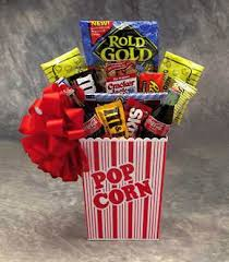 snack baskets popcorn pack snack gift basket small