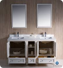 Bathroom Vanity With Side Cabinet 60 Fresca Oxford Fvn20 241224aw Traditional Sink