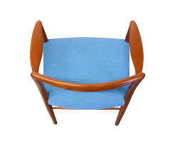 Teal Dining Chairs by Kai Lyngfeldt Larsen Teak Dining Chairs For Soren Willadsen