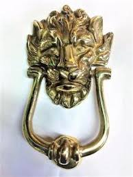 lion door knocker no 10 downing brass lion door knocker ebay