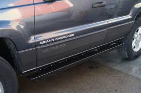 gray jeep grand cherokee 2004 rock hard 4x4 u0026 8482 patriot series rocker guards for jeep grand