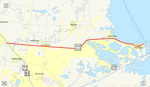 South Padre Island Map Texas State Highway 100 Wikipedia