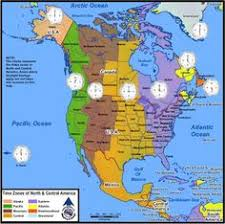usa time zone map est time zones map of us showing est cst mst pst time difference