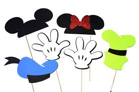 mickey mouse photo booth mickey and friends deluxe edition photo booth props set of 12