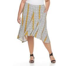 apt 9 clothing size apt 9 shark bit a line midi skirt