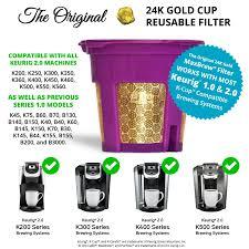 Singlek He Amazon Com Maxbrew 24k Gold K Cup Reusable Filter For Keurig 2 0