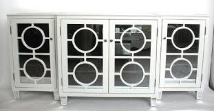 Entertainment Storage Cabinets Suzie Storage Furniture Ava Mirrored Buffet White Entertainment