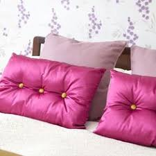 Pink Bedroom Cushions - soft velvet diamante cushions chic filled scatter kylee cushion