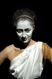 clic greek makeup for the se ghost or spirit or dess makeup marks history ancient