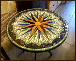 Star Table Tile And Glass Mosaic Tables