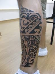 tattoo tribal na perna masculina tatuagem tribal na perna informe 10