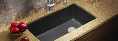 overmount sink on granite sink options for your countertops overmount vs undermount sinks