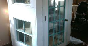 diy kitchen cabinet doors with glass diy cabinet pantry from doors and windoors hometalk