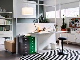 desks for home office ikea a grey home office with alex desk and