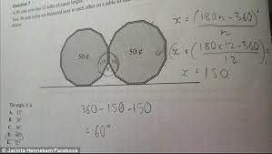 Interior Angle Sum Of A Decagon Can You Solve This High Maths Problem Students Still