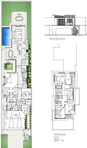 floor plans for narrow lots narrow lot plans 28 images 115 sqm modern one affordable