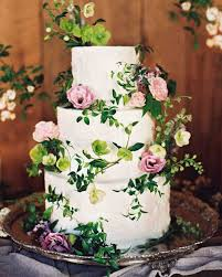 wedding cake buttercream 62 fresh floral wedding cakes martha stewart weddings