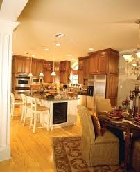Open Kitchen Dining Room Open Kitchen Dining Room Open Floor Plans Open Home Plans House