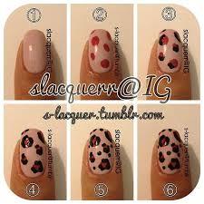 n gel selber designen leoparden nägel selber machen 5 besten leoparden nägel nägel