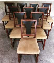 dining room set of 4 art deco inlaid chairs 1 french art 2017