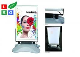 lighted movie poster frame silver color lighted movie poster frame ac 85 245v input led