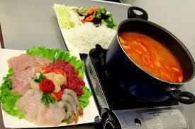 fondue vietnamienne cuisine asiatique fondu vietnamienne pour 2 personnes photo de viet express