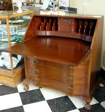 Secretary Desks For Small Spaces by Furniture Traditional Glossy Secretary Desk With Hutch For Your