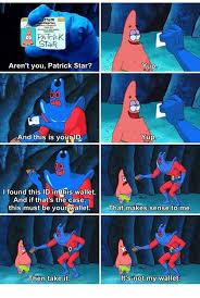 Spongebob Wallet Meme - 25 best memes about patrick patrick memes