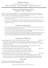 Cover Letters For Resume Examples by Cover Letter Example For Hospitality Manager Cover Letter Tips