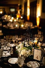 Wedding Hall Decorations Black And Gold Wedding Reception Decorations Black And Gold