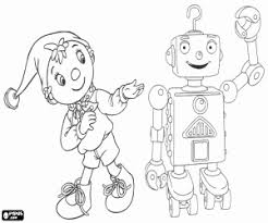 noddy coloring pages printable games