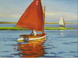 940 u201cbeetle cat r12 bass river cape cod u201d ann sullivan gallery