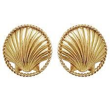 1960 s earrings chanel 1960 s sea shell earrings for sale at 1stdibs