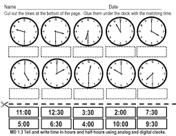 Time Clock Worksheets Telling The Time The English Corner For 5th Grade Teachers