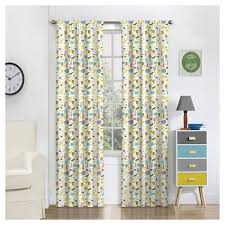 Jungle Blackout Curtains Jungle Thermaback Blackout Curtains Eclipse Myscene Target