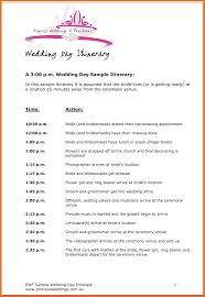 Destination Wedding Itinerary Template 8 Itinerary Template Sample Itinerary Template Sample