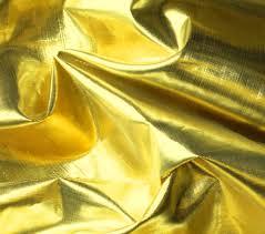 metallic fabric shiny tissue lame gold white joann