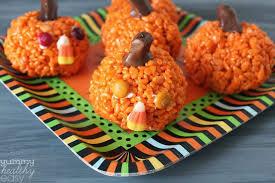 rice crispy treat pumpkins all the rice krispie treats you ll need page 15