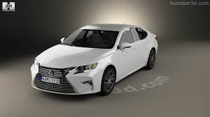 lexus hybrid sedan 2015 360 view of lexus es hybrid 2015 3d model hum3d store