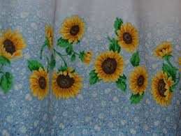 Sunflower Yellow Curtains by Sunflower Kitchen Curtains U2013 Kitchen Ideas