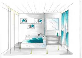dessiner une chambre en perspective dessin en perspective d une chambre simple au fait savez vous
