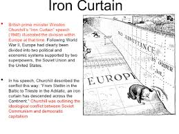 The Iron Curtain Speech Meaning by The New World The Background To The Cold War Who Was To Blame For