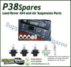 range rover p38 heater panel air conditioning hevac light