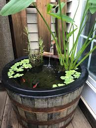 does my barrel pond count aquariums