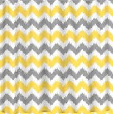 Gray Chevron Curtains Yellow Chevron Curtains Interior Design